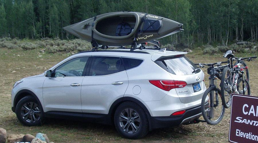 CUV with Leonard installed class 1 hitch