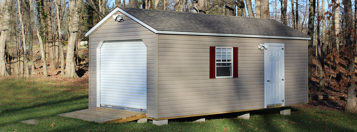 Choosing from Storage Shed Siding Materials